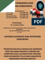 Laporan Diagnosis Dan Intervensi Komunitas-2
