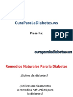 Remedios Naturales Para la Diabetes y Su Eficacia en el Tratamiento de la Diabetes