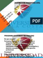 Programa Académico de Ingeniería Civil