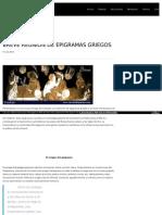 Http Circulodepoesia Com 2013 10 Breve-reunion-De-epigramas-griegos