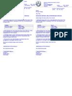 Surat Kelas Tintensif Khas Upsr 2014