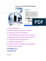 DPMR Digital Two Way Radios BFDX BF-P108 Suppliers
