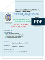 Azimut y Rumbo Fiarn Informe 4