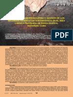 Petróleo en Cuba y Espeleología