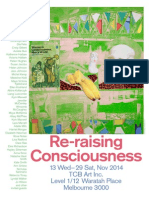 Re-raising Consciousness Poster by Katherine Hattam