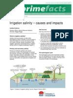 fact sheet- irrigation salinity