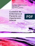 Cuidados de Enfermeria Al Paciente Con Hipertension Arterial