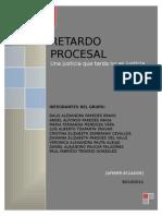 Retardo Procesal en Venezuela, Mexico y Ecuador (1)