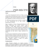 Teoría Autóctona de Florentino Ameghino