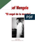 Trabajo Josef Mengele Ayrton Gimenez