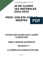 Plan de Clases Naturales 8-9-10 VIOLETA COELLO