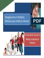 Hipoglicemia en Pediatría