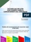 Factores Que Influyen Positivamente Sobre El Comportamiento Del Consumidor