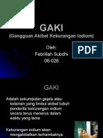 febrillah subdhi - GAKI