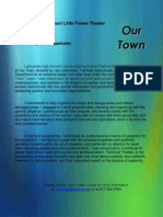 our town - text