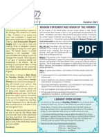 Friends of the Sierra Madre Library Newsletter October 2014