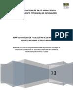 Plan Estrategico de Tecnologias de Información