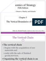Chapter 3 - The Vertical Boundaries of the Firm