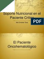 Nutricion en el paciente Critico