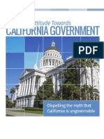 Sovereign California Dispels Myth that California is Ungovernable