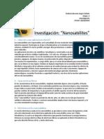 Investigacion, Nanosatelites