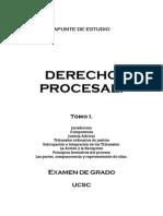 Derecho Procesal i - Orgánico