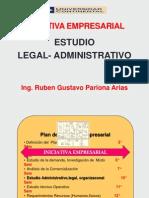 Iniciat Emp-2014-i Estudio Administrativo -Legal