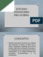 Estudio Financiero Pro-Forma