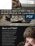 PTSD and the Law