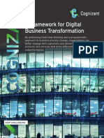 A Framework for Digital Business Transformation