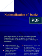 Bank Nationalization Economics