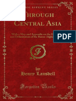 Through Central Asia by Henry Lansdell (1887)