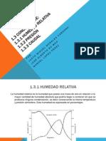 Humedad relativa1.3.2 Presión1.3.3 caudal