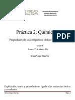 Reporte Quimica 1