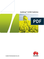 Quidway® S2300 Switches