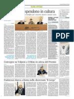 Convegno su Volponi in attesa del Premio - Il Corriere Adriatico del 30 ottobre 2014
