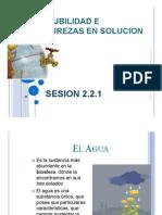2.2.1 CaracFísicas Uso de Agua