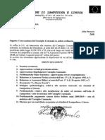 Convocazione Consiglio Comunale - 10 Novembre 2014