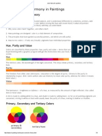 Color Theory for Painters