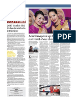 London Opens Up to the World as Travel Show Draws Thousands - Gulf Times 30 Oct 2014
