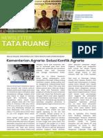 Newsletter Tata Ruang dan Pertanahan (TRP) Edisi Oktober 2014