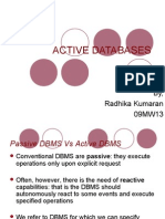 Active Databases