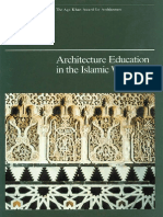 Architecture Education in the Islamic World