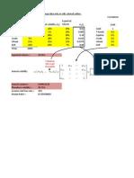 Excel Modeling of Portfolio Variance