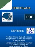 Curs Kinetoprofilaxie