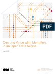 Creating Value With Identifiers in an Open Data World_Summary