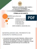 Formulas de Sheets