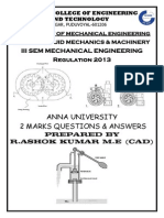 FLUID MECHANICS AND MACHINERY UNIVERSITY TWO MARK QUESTION AND ANSWER FOR REG - 2013