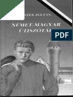 Nemet Magyar Utiszotar