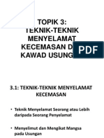Topik 3.1 - Cara-Cara Menyelamat Kecemasan
